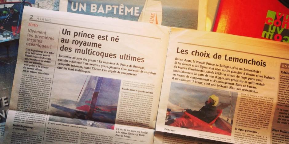 Les gazettes du Prince 2013